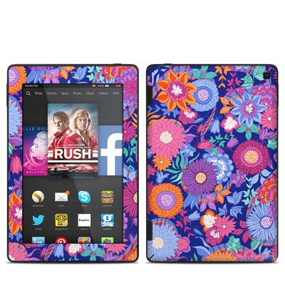 Amazon Kindle Fire HD 7in 2014 Skin - Ribbon Bouquet