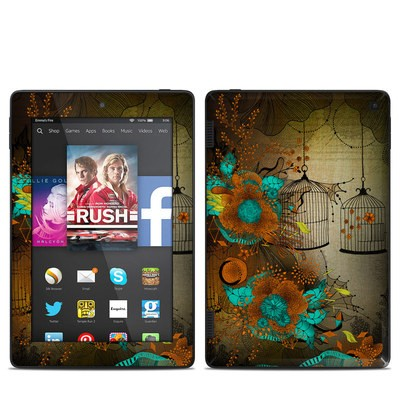 Amazon Kindle Fire HD 7in 2014 Skin - Rusty Lace