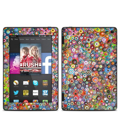 Amazon Kindle Fire HD 7in 2014 Skin - Round and Round