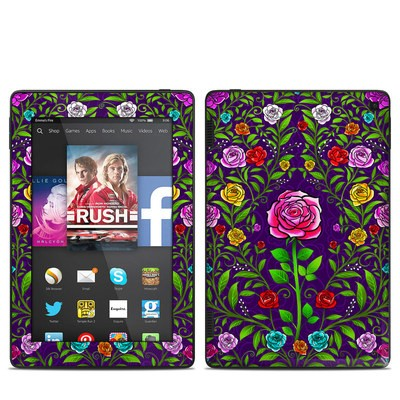 Amazon Kindle Fire HD 7in 2014 Skin - Rose Burst