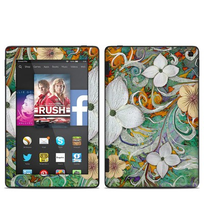 Amazon Kindle Fire HD 7in 2014 Skin - Sangria Flora