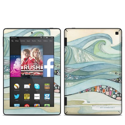 Amazon Kindle Fire HD 7in 2014 Skin - Sea of Love