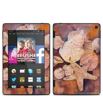 Amazon Kindle Fire HD 7in 2014 Skin - Sea Shells