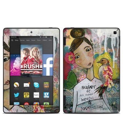 Amazon Kindle Fire HD 7in 2014 Skin - Seeker of Hope