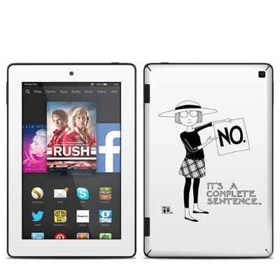 Amazon Kindle Fire HD 7in 2014 Skin - Sentence