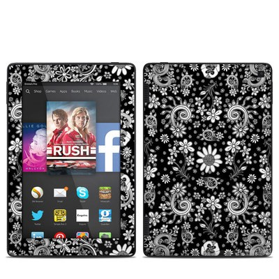 Amazon Kindle Fire HD 7in 2014 Skin - Shaded Daisy