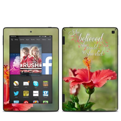 Amazon Kindle Fire HD 7in 2014 Skin - She Believed