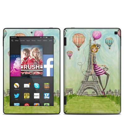 Amazon Kindle Fire HD 7in 2014 Skin - The Sights Paris