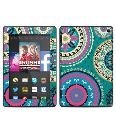Amazon Kindle Fire HD 7in 2014 Skin - Silk Road