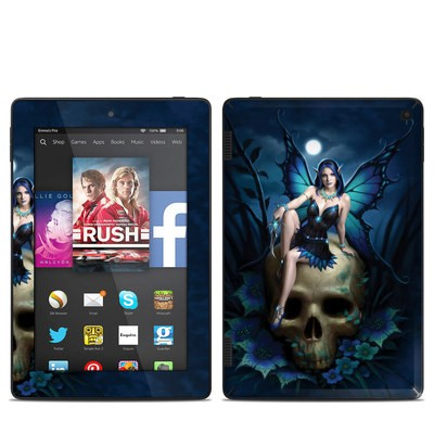 Amazon Kindle Fire HD 7in 2014 Skin - Skull Fairy