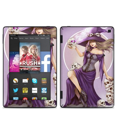 Amazon Kindle Fire HD 7in 2014 Skin - Skull Witch