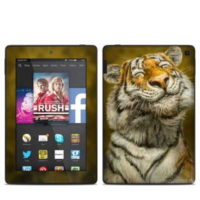 Amazon Kindle Fire HD 7in 2014 Skin - Smiling Tiger