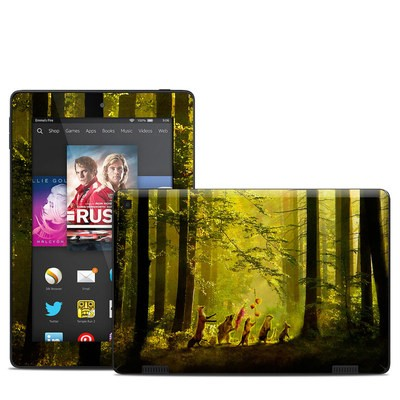 Amazon Kindle Fire HD 7in 2014 Skin - Secret Parade
