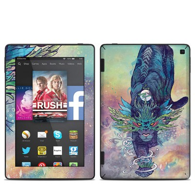 Amazon Kindle Fire HD 7in 2014 Skin - Spectral Cat