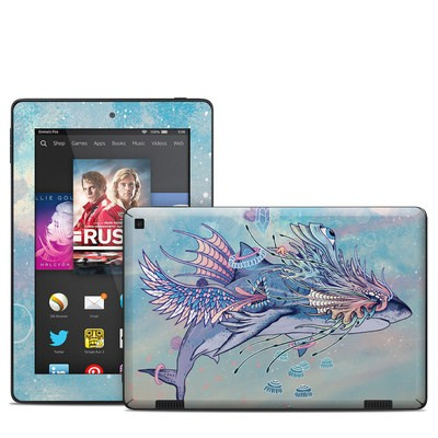 Amazon Kindle Fire HD 7in 2014 Skin - Spirit Shark