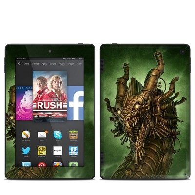 Amazon Kindle Fire HD 7in 2014 Skin - Steampunk Dragon