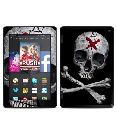 Amazon Kindle Fire HD 7in 2014 Skin - Stigmata Skull