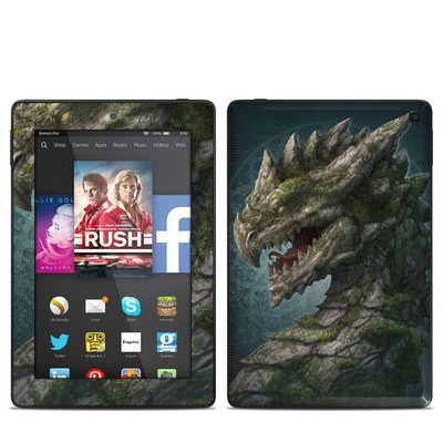 Amazon Kindle Fire HD 7in 2014 Skin - Stone Dragon