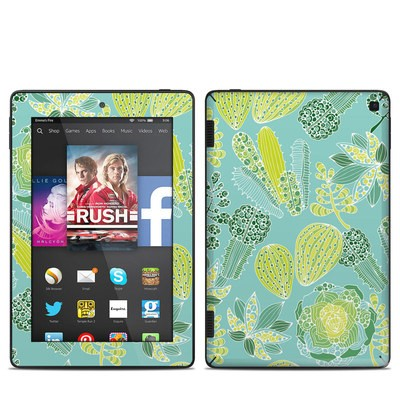 Amazon Kindle Fire HD 7in 2014 Skin - Succulents