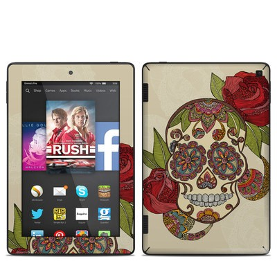 Amazon Kindle Fire HD 7in 2014 Skin - Sugar Skull