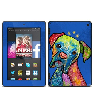 Amazon Kindle Fire HD 7in 2014 Skin - Sun Moon Stars
