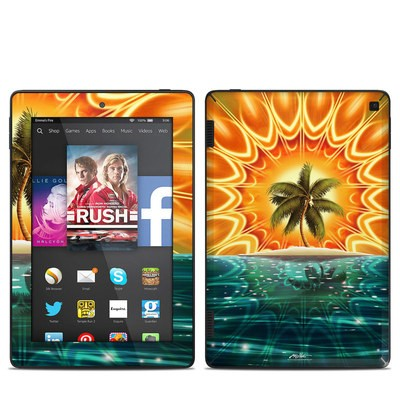 Amazon Kindle Fire HD 7in 2014 Skin - Sundala Tropic