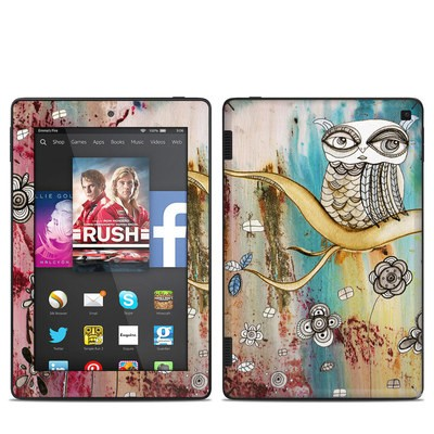 Amazon Kindle Fire HD 7in 2014 Skin - Surreal Owl