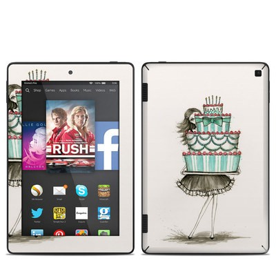Amazon Kindle Fire HD 7in 2014 Skin - She Takes The Cake
