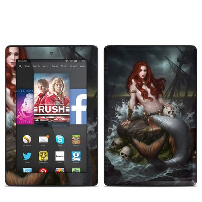 Amazon Kindle Fire HD 7in 2014 Skin - Ocean's Temptress