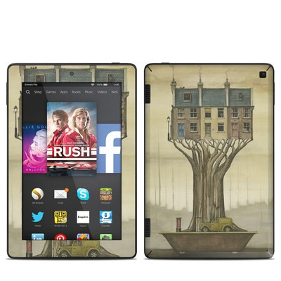 Amazon Kindle Fire HD 7in 2014 Skin - Terraced Houses