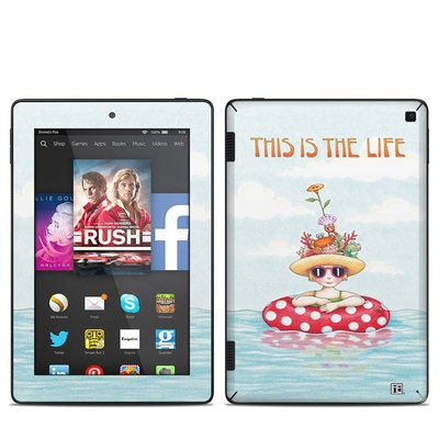 Amazon Kindle Fire HD 7in 2014 Skin - This Is The Life