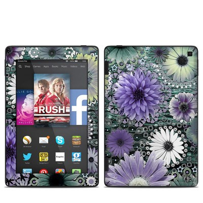 Amazon Kindle Fire HD 7in 2014 Skin - Tidal Bloom