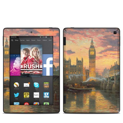 Amazon Kindle Fire HD 7in 2014 Skin - Thomas Kinkades London