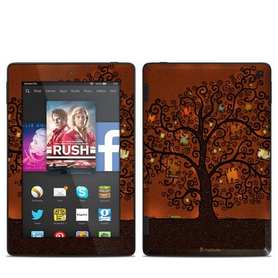Amazon Kindle Fire HD 7in 2014 Skin - Tree Of Books