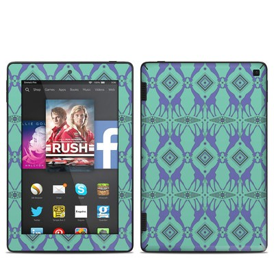 Amazon Kindle Fire HD 7in 2014 Skin - Tower of Giraffes