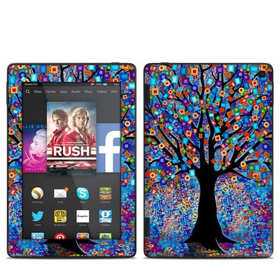 Amazon Kindle Fire HD 7in 2014 Skin - Tree Carnival