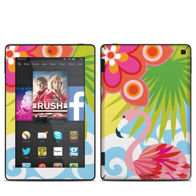 Amazon Kindle Fire HD 7in 2014 Skin - Tropic Fantasia