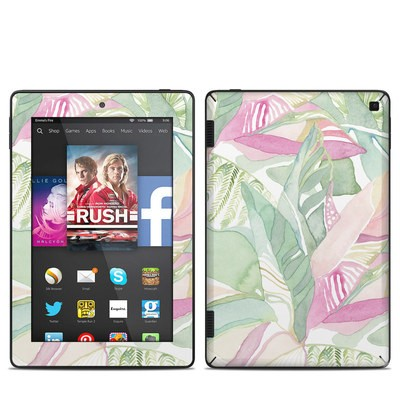 Amazon Kindle Fire HD 7in 2014 Skin - Tropical Leaves