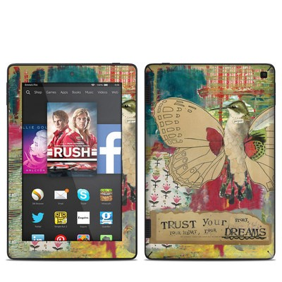 Amazon Kindle Fire HD 7in 2014 Skin - Trust Your Dreams