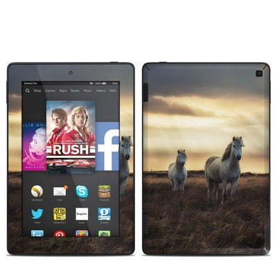 Amazon Kindle Fire HD 7in 2014 Skin - Hornless Unicorns