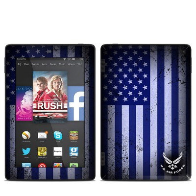 Amazon Kindle Fire HD 7in 2014 Skin - USAF Flag