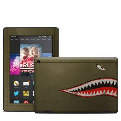 Amazon Kindle Fire HD 7in 2014 Skin - USAF Shark