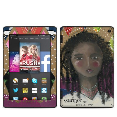 Amazon Kindle Fire HD 7in 2014 Skin - Warrior of Love