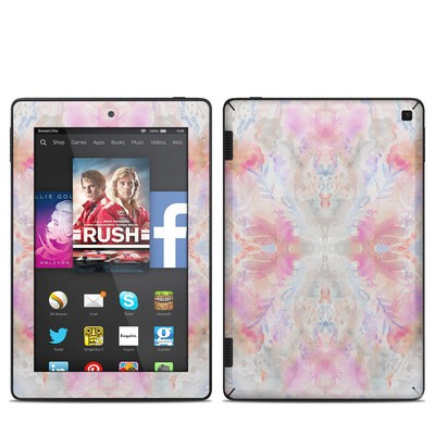 Amazon Kindle Fire HD 7in 2014 Skin - Watercolor Damask