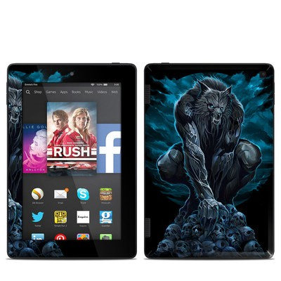 Amazon Kindle Fire HD 7in 2014 Skin - Werewolf