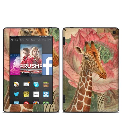 Amazon Kindle Fire HD 7in 2014 Skin - Whimsical Giraffe