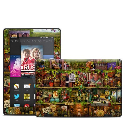 Amazon Kindle Fire HD 7in 2014 Skin - Wine Shelf