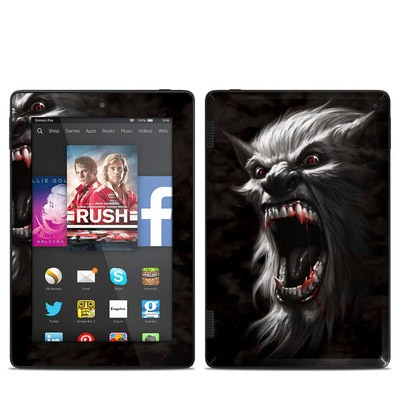 Amazon Kindle Fire HD 7in 2014 Skin - Wolfman
