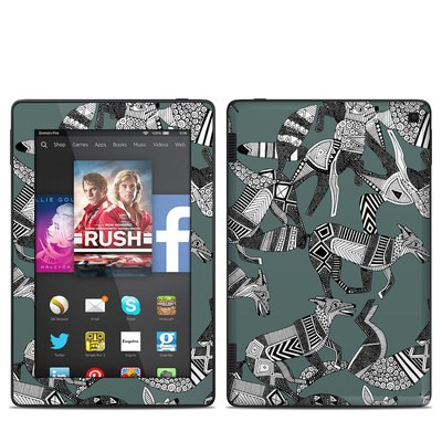 Amazon Kindle Fire HD 7in 2014 Skin - Woodland Fox