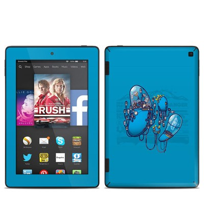 Amazon Kindle Fire HD 7in 2014 Skin - Workflow